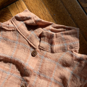Checkered Shirts_Light Brown