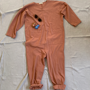Snuggle Jumpsuit_Dusty Pink