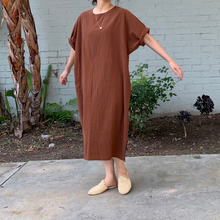 Load image into Gallery viewer, July Dress _Brown