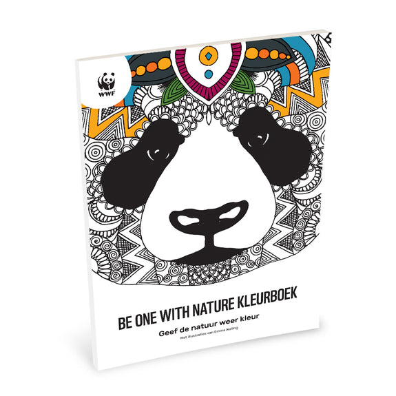 WWF Kleurboek Be one with nature