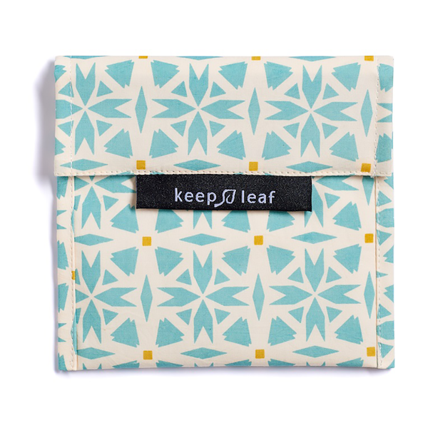 Keep Leaf lunch baggie groot - geo