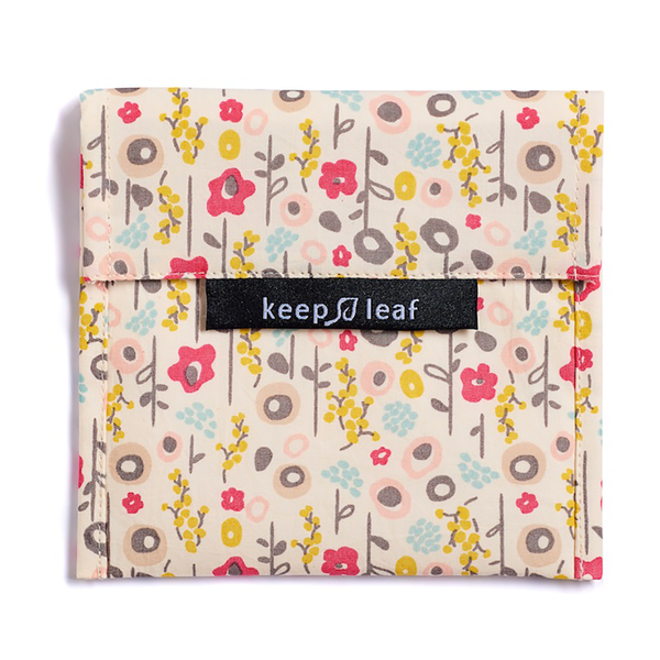 Keep Leaf lunch baggie groot - bloem