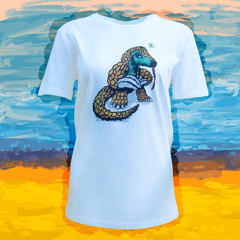 Pangolin t-shirt by Achilles and the Tortoise