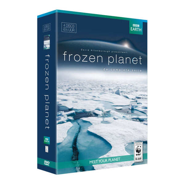 DVD box Frozen Planet (box van 4)