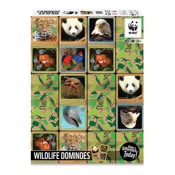 WWF Domino spel Wildlife