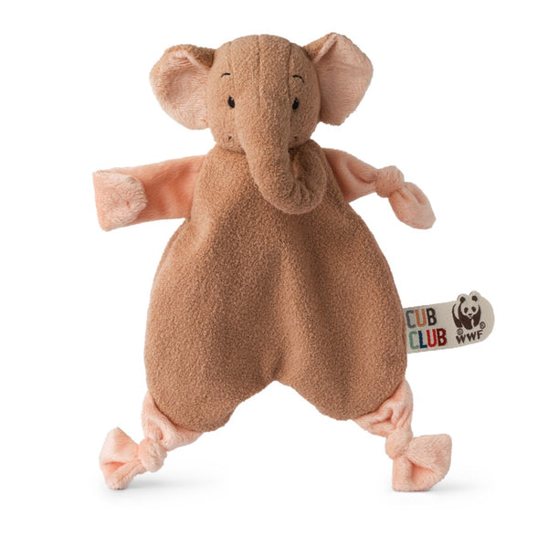 WWF Cub Club - Ebu the Elephant - knuffeldoekje
