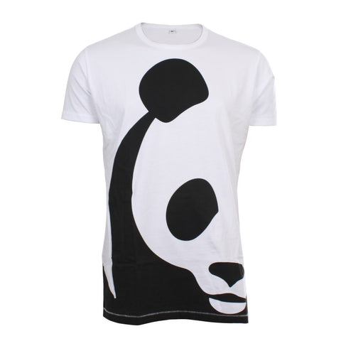 Wit t-shirt Panda - Heren