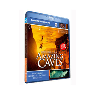 Amazing caves (Bluray + DVD combopack)