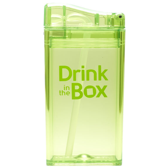 Drink in the Box herbruikbaar drinkpakje - groen