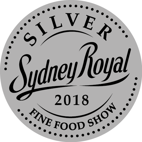 2018 silver at the Sydney Royal Fine Food Show