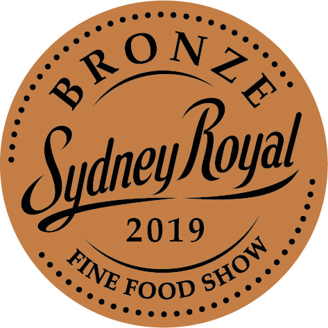 2019 awarded bronze at the Sydney Royal Fine Food Show