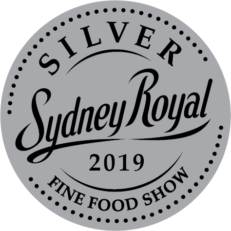 2019 awarded silver at the Sydney Royal Fine Food Show