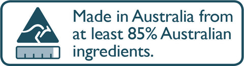 Australian made and owned.