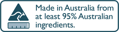 Australian owned and made.