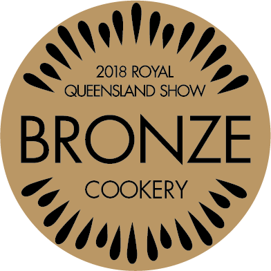 2018 bronze at the Royal Queensland Fine Food Show