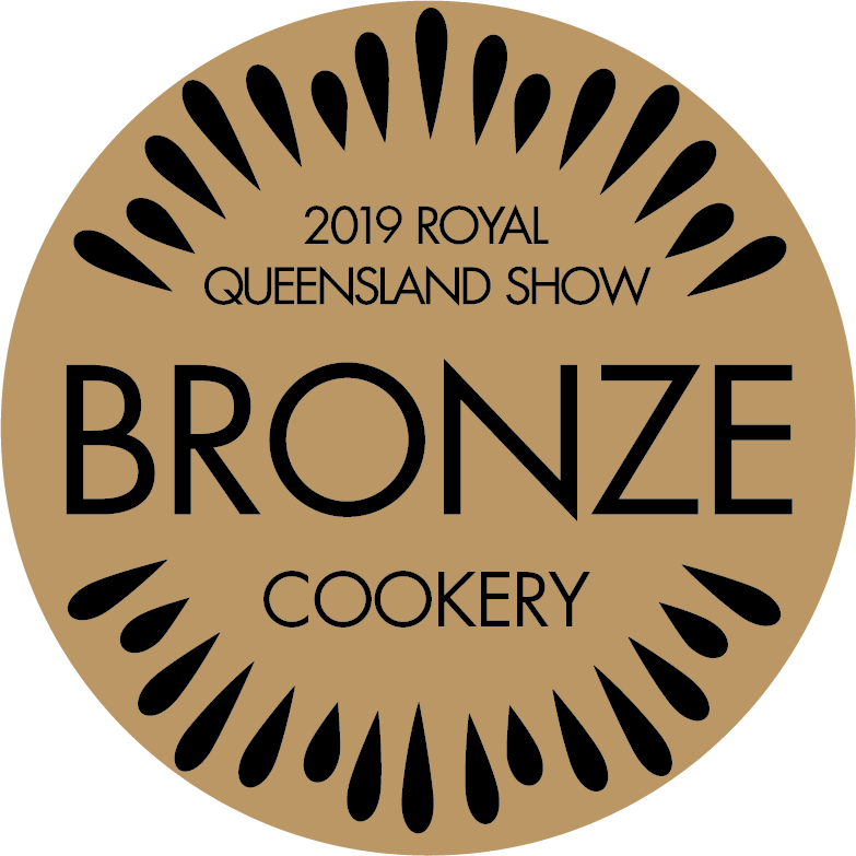 2019 awarded bronze at the Royal Queensland Show