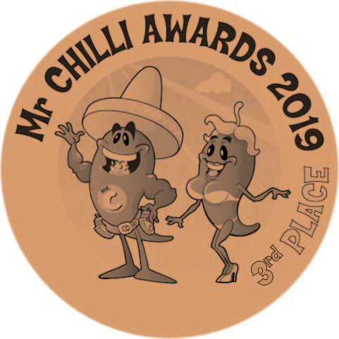 2019 awarded 3rd at The Mr Chilli Awards