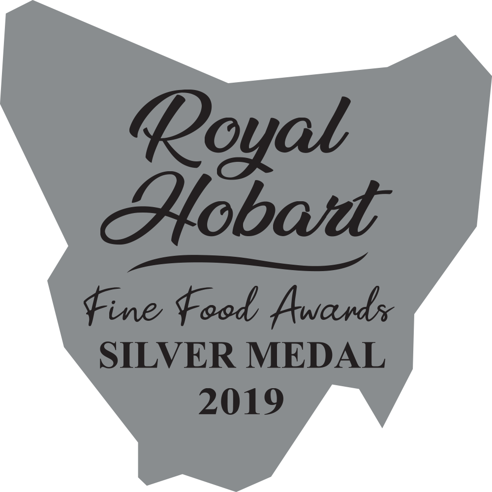 2019 silver at the Royal Hobart Fine Food Awards
