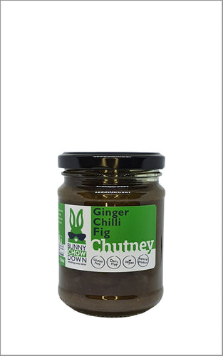 Bunny Chow Down  Fig Chilli Ginger Chutney