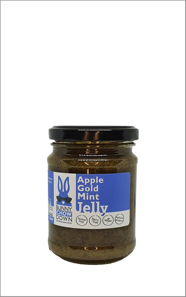 Mint Gold Apple Jelly