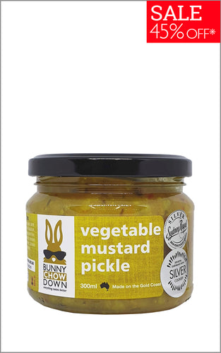 SALE Mustard Vegetable Pickle