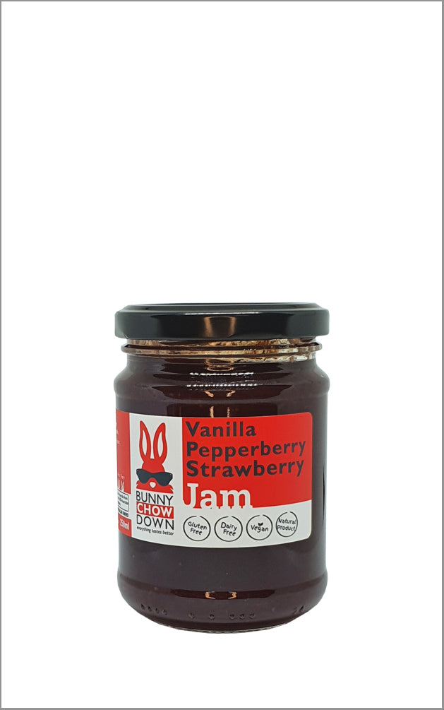 Strawberry Pepperberry Vanilla Jam