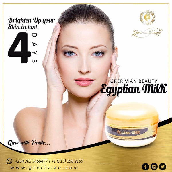 EGYPTIAN MILK (4 Days Brightening Milk) - www.grerivian.com