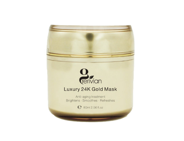Grerivian 24K GOLD FACIAL MASK: Anti-Aging, smoothen, refreshes, Rejuvenating Face Mask For Flawless Skin - Reduces Fine Lines, Clears Acne, Minimizes Pores, Moisturizes & Firms Up Face - www.grerivian.com