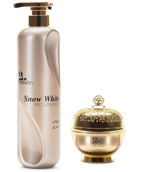Grerivian SNOW WHITENING (Body Lotion & Face Cream) 250ML / 750ML - www.grerivian.com