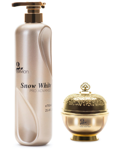 Grerivian SNOW WHITENING (Body Lotion & Face Cream) 250ML / 750ML - GRERIVIAN COSMETICS