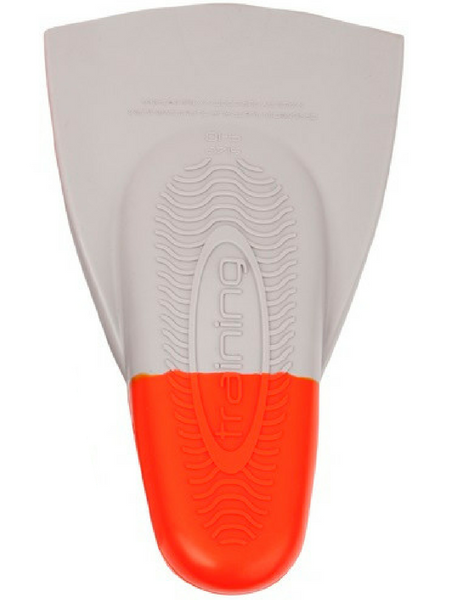 DMC ORIGINAL TRAINING FINS-GREY/ORANGE