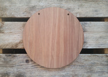 WOODEN Bag Tag (Round)