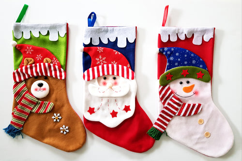 Personalised Christmas Stockings (Premium- Colour)