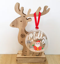 Personalised Christmas Decoration- Snow Figurines