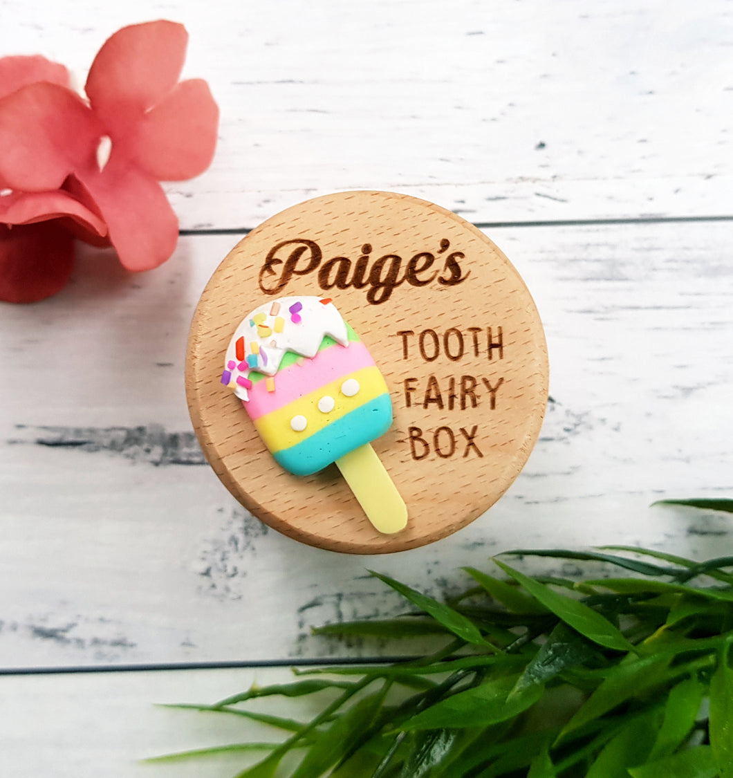 Ice-Cream Tooth Fairy Box (Personalised)