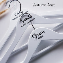 Personalised Wedding Coat Hangers