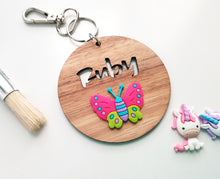 Bag Tag with Butterfly