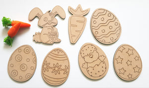 Easter Paint Kit- DIY Craft Easter Gift Tags