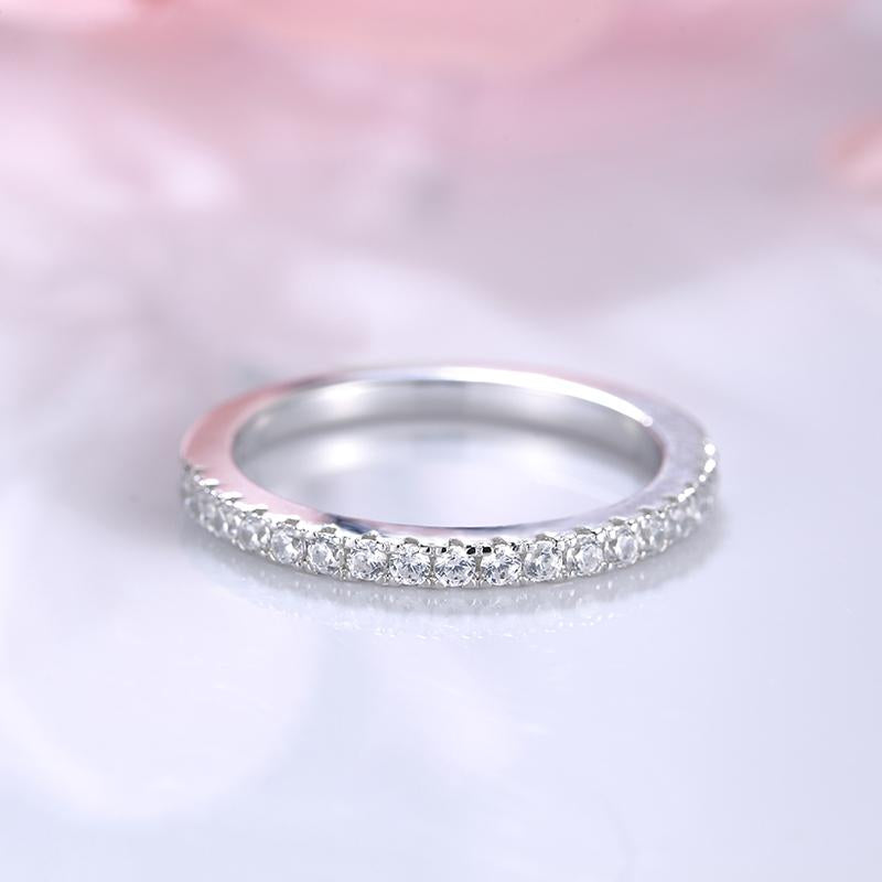 Louily Lovely Oval Cut Pink Sapphire Wedding Ring Sets In Sterling Silver