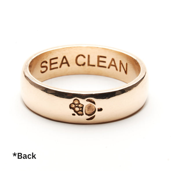 #Saveourseas Ring (Bronze)