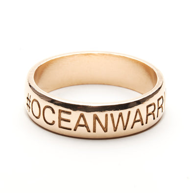 #Oceanwarrior Ring (Bronze)
