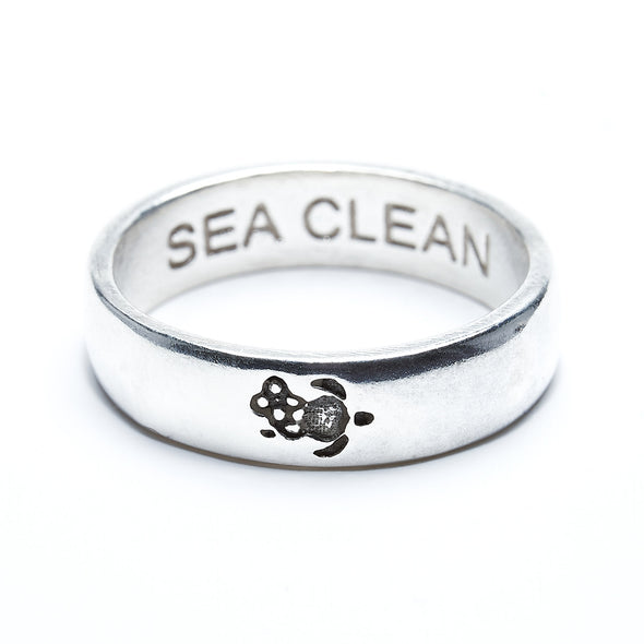 #SeaClean Ring (Sterling silver)