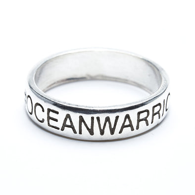 #Oceanwarrior Ring (Sterling silver)