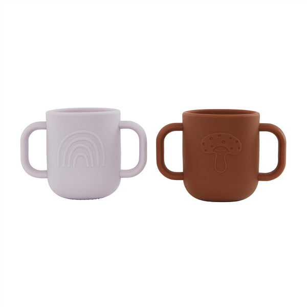OYOY Living Design - OYOY MINI Kappu Cup - Pack of 2 Dining Ware 501 Lavender / Caramel