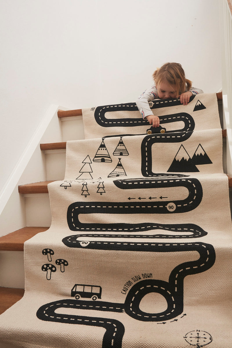 OYOY Living Design - OYOY MINI Adventure Rug Rug 102 Offwhite