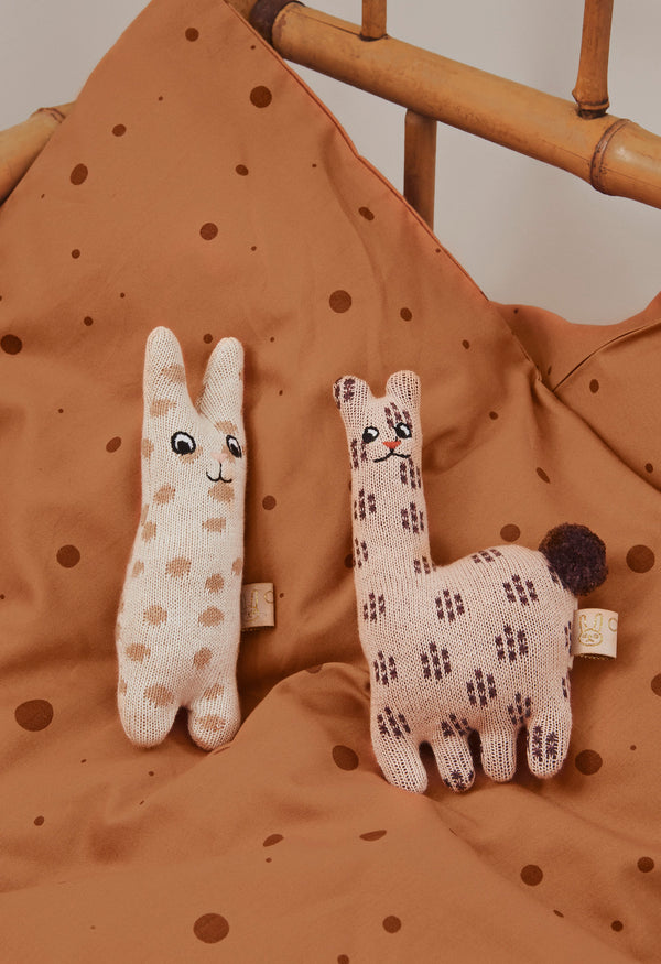 OYOY Living Design - OYOY MINI Baby Rattle - Rabbit Soft Toys 401 Nude