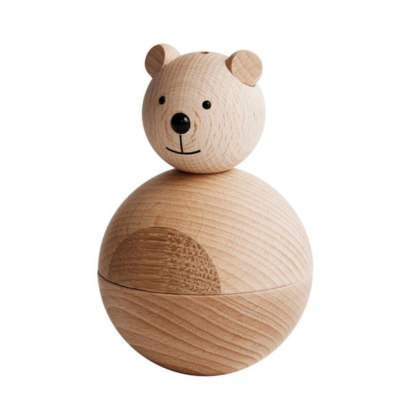 OYOY Living Design - OYOY LIVING Bear Nature Wooden Animal 901 Nature