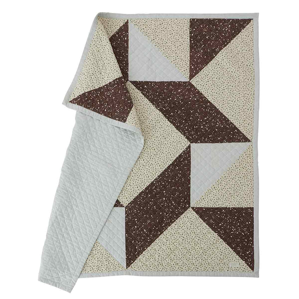 OYOY Living Design - OYOY MINI Blanket Aya Quiltet Plaid 908 Multi
