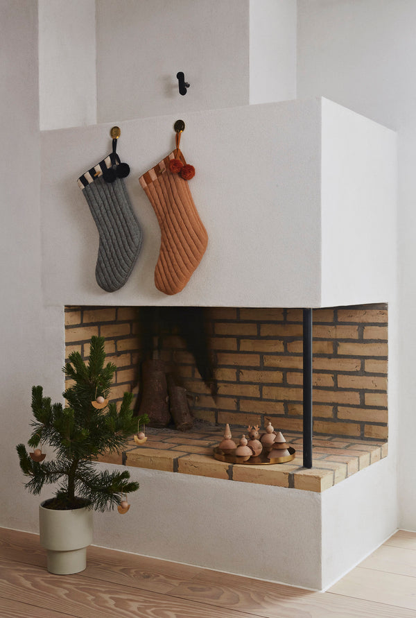 OYOY Living Design - OYOY LIVING Christmas Elf Wooden Animal 901 Nature
