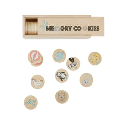 OYOY Living Design - OYOY MINI Cookies - Memory Game Wooden Toy 901 Nature